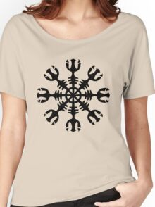 Helm of awe, Aegishjalmur, protection symbol Women's Relaxed Fit T-Shirt