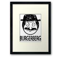Burgerberg Framed Print