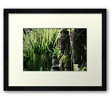 Indonesia 2 - Gardians of the Rice Fields Framed Print