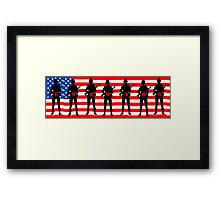 Memorial Day: End Wars Framed Print