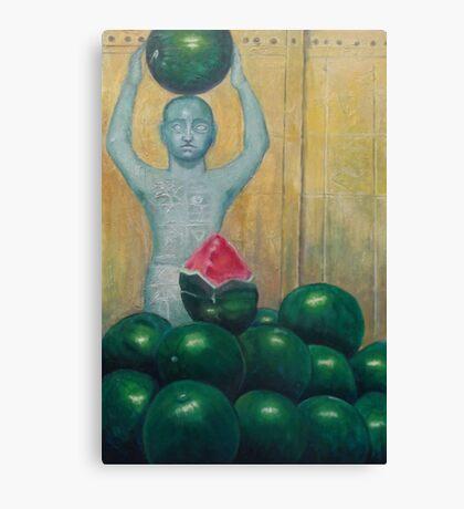 Watermelon Seller Canvas Print