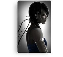 Charging Canvas Print
