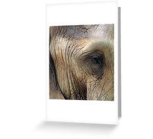 The eye of memory Greeting Card