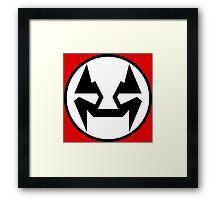 Rubbernorc NOGL Emblem - Flag Framed Print