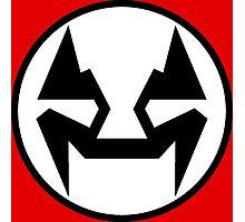 Rubbernorc NOGL Emblem - Flag Photographic Print