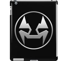 Rubbernorc NOGL Emblem - Silver iPad Case/Skin