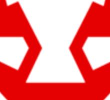 Rubbernorc NOGL Emblem - Red Sticker