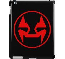 Rubbernorc NOGL Emblem - Red iPad Case/Skin