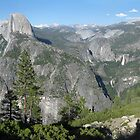 Yosemite, Glacier Point by Michiel van Erp