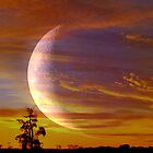 Lunar Sunset by Clive