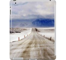 Icelandic Open Road iPad Case/Skin