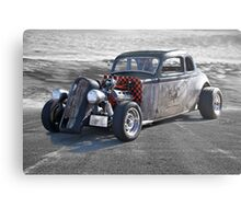 1936 Plymouth Coupe 'Rat Master' Metal Print