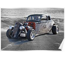 1936 Plymouth Coupe 'Rat Master' Poster