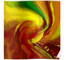 Life flowing - Abstract-wall art+Product Design Poster