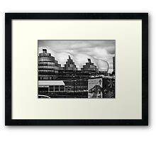 In the lost land of giants Framed Print