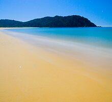 Totaranui Beach, Abel Tasman National Park, New Zealand by Paul Mercer