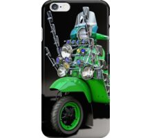 Vespa PX 125 Pretty Green iPhone Case/Skin