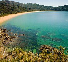 Totaranui Beach, Abel Tasman National Park by Paul Mercer
