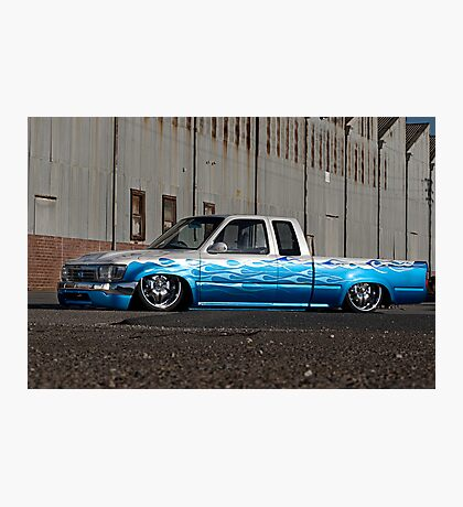 Air bagged Toyota Hilux Photographic Print