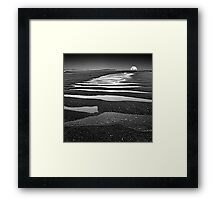 Evening Tide Pools, Cape Leveque Framed Print