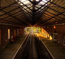 Old Train Station by Svetlana Sewell