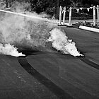 Burnout Smoke and Rubber by NickBracken