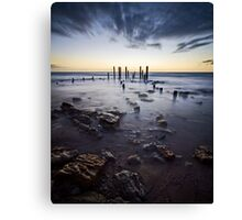 At the going down of the sun... Canvas Print