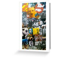 Collage of Films Greeting Card