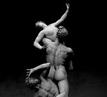 The Rape of the Sabine Women, Loggia dei Lanzi, Florence by Ben H