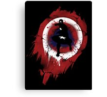 The First Avenger T shirt, iphone case & more Canvas Print