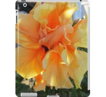 Yellow hibiscus iPad Case/Skin