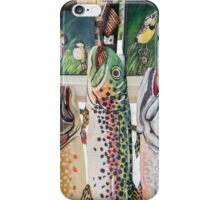 Victoria's Colorful Display at Farmer's Market - Ann Arbor iPhone Case/Skin