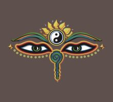 Buddha eyes, symbol wisdom & enlightenment, Kids Clothes