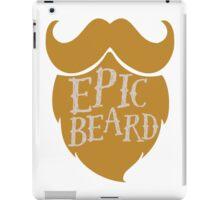 Epic beard blond iPad Case/Skin