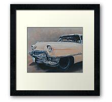 Cadillac study Framed Print