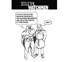 Digital Watchmen Photographic Print