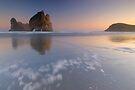 Wharariki Beach 2 by Paul Mercer
