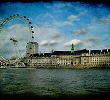 London Eye and Aquarium by Jonicool