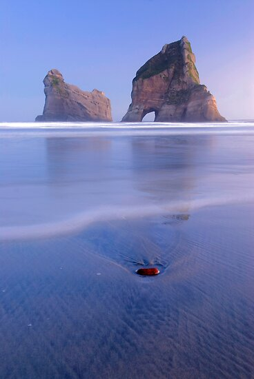 Wharariki Beach 6 by Paul Mercer
