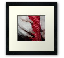 Manicure Needed Framed Print