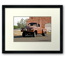 1948 Studebaker Pickup 'Gasser' Framed Print