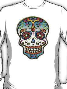 Mexican Sugar Skull, Day of the Dead, Dias de los muertos T-Shirt