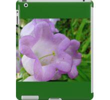 Purple bells iPad Case/Skin