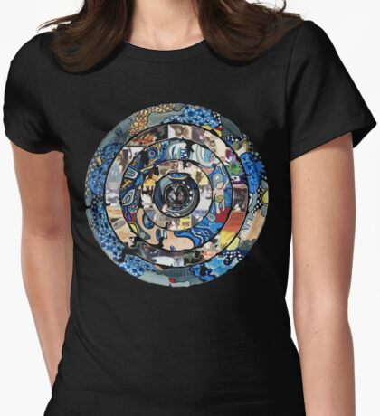 Live Target Womens Fitted T-Shirt