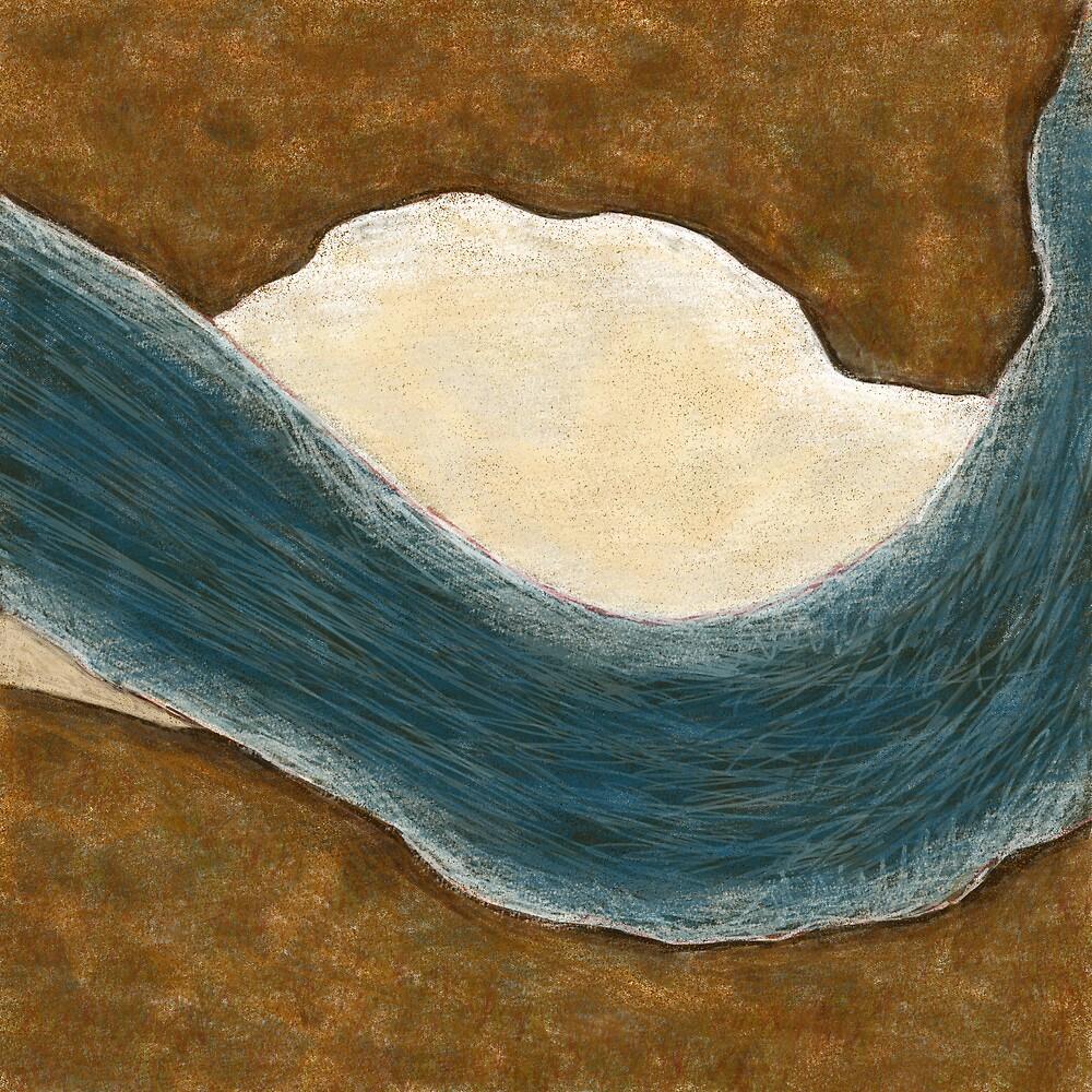 Murray River Bend by Julian Newman