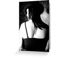Studio Portraiture Shot  Greeting Card