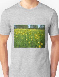 Flower field Unisex T-Shirt