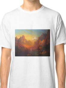 The Fellowship Of The Ring Moria Classic T-Shirt