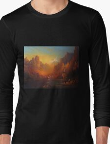 The Fellowship Of The Ring Moria Long Sleeve T-Shirt