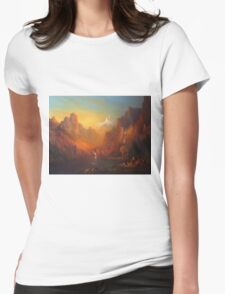 The Fellowship Of The Ring Moria Womens Fitted T-Shirt